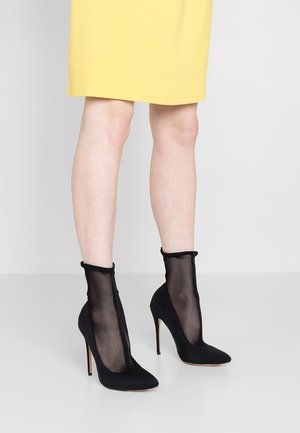 ELIZA - High heeled ankle boots - black