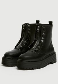PULL&BEAR - Bottines - black - 2