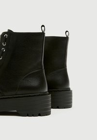 PULL&BEAR - Bottines - black - 3