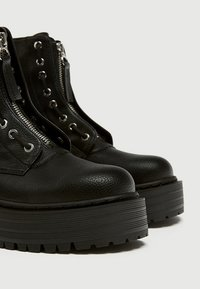 PULL&BEAR - Bottines - black - 4