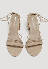PULL&BEAR - Sandals - brown - 1