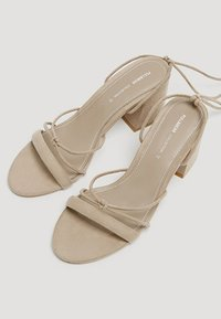 PULL&BEAR - Sandals - brown - 4