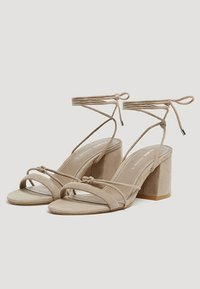 PULL&BEAR - Sandals - brown - 2