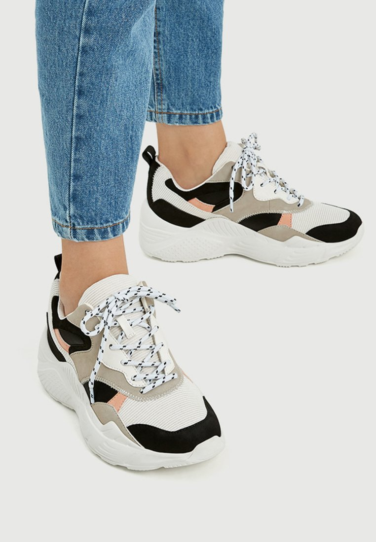 PULL&BEAR - Sneakers laag - multi-coloured