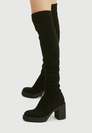 Korolliset saappaat - black