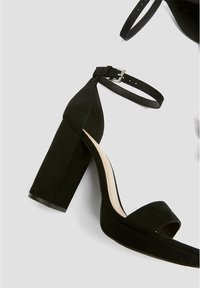 PULL&BEAR - High Heel Sandalette - black - 4