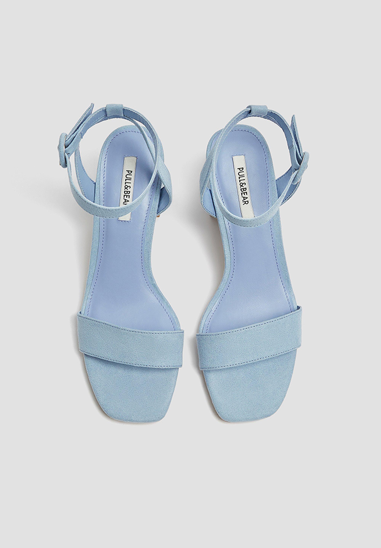 PASTELLBLAUE SANDALEN 11620540 Sandali con cinturino blue