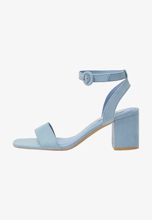 PASTELLBLAUE SANDALEN 11620540 - Ankle cuff sandals - blue