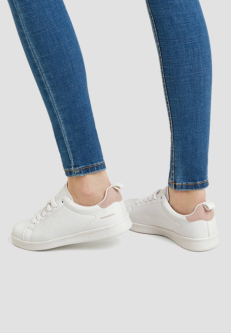 PULL&BEAR - Sneakers laag - white
