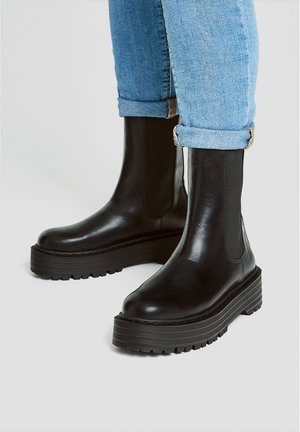 MODISCHE CHELSEA-STIEFEL 11044540 - Classic ankle boots - black