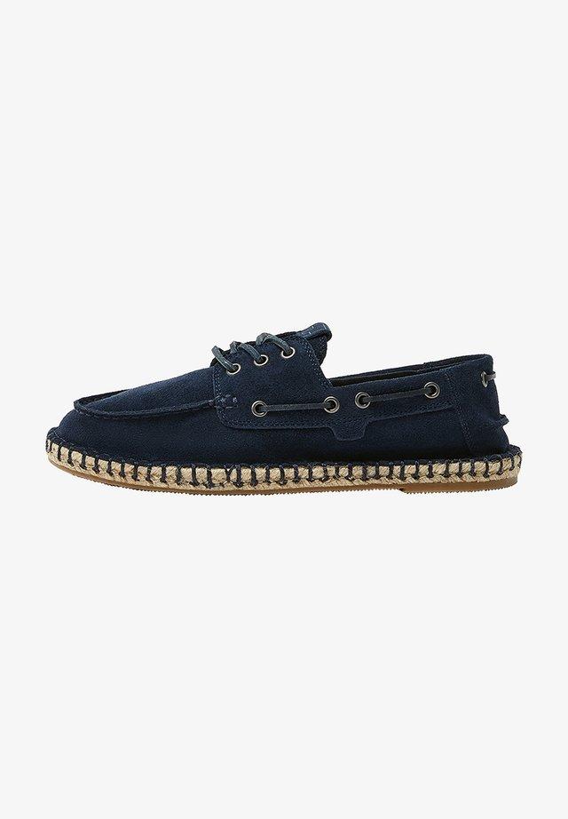 Chaussures bateau - blue