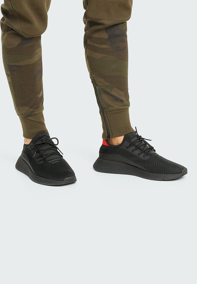 PULL&BEAR - Sneakers laag - black