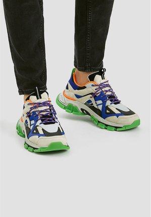 MIT NEONDETAILS - Sneakers laag - blue