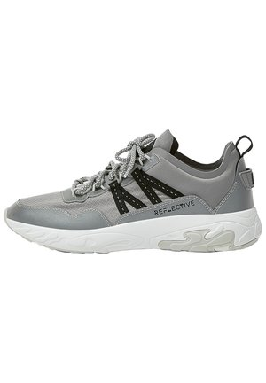 SNEAKER IM STREETSTYLE MIT KLETTVERSCHLUSS 12302541 - Trainers - dark grey