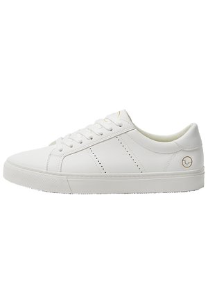 BASIC-SNEAKER MIT BROGUING 12210540 - Baskets basses - white
