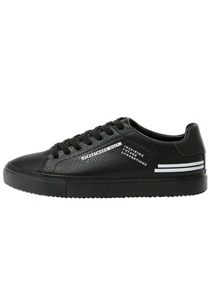 SNEAKER MIT SLOGAN 12217540 - Sneakers laag - black