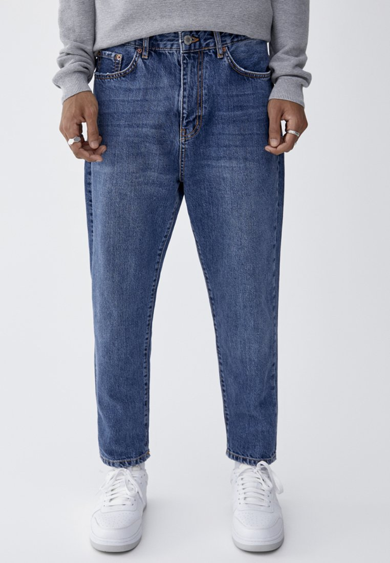 PULL&BEAR - PULL&BEAR - Jeans Tapered Fit - dark blue
