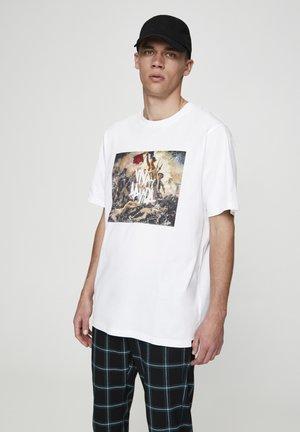 COLDPLAY VIVA LA VIDA - T-shirt print - off-white