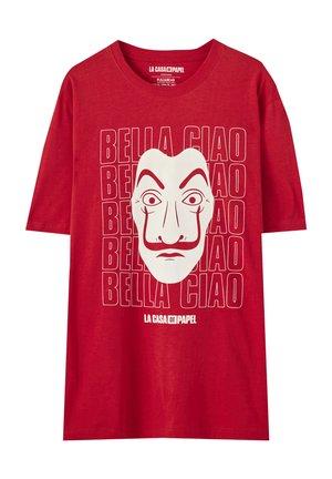 LA CASA DE PAPEL - T-Shirt print - light red