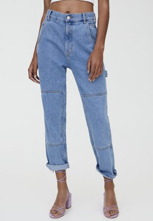CARGO - Relaxed fit jeans - blue