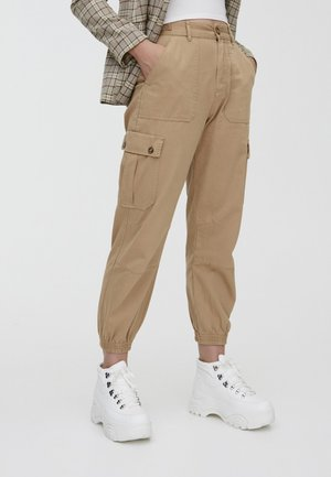 CARGO  - Spodnie materiałowe - camel