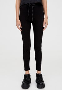 PULL&BEAR - MIT STRETCH  - Jeggings - black - 0