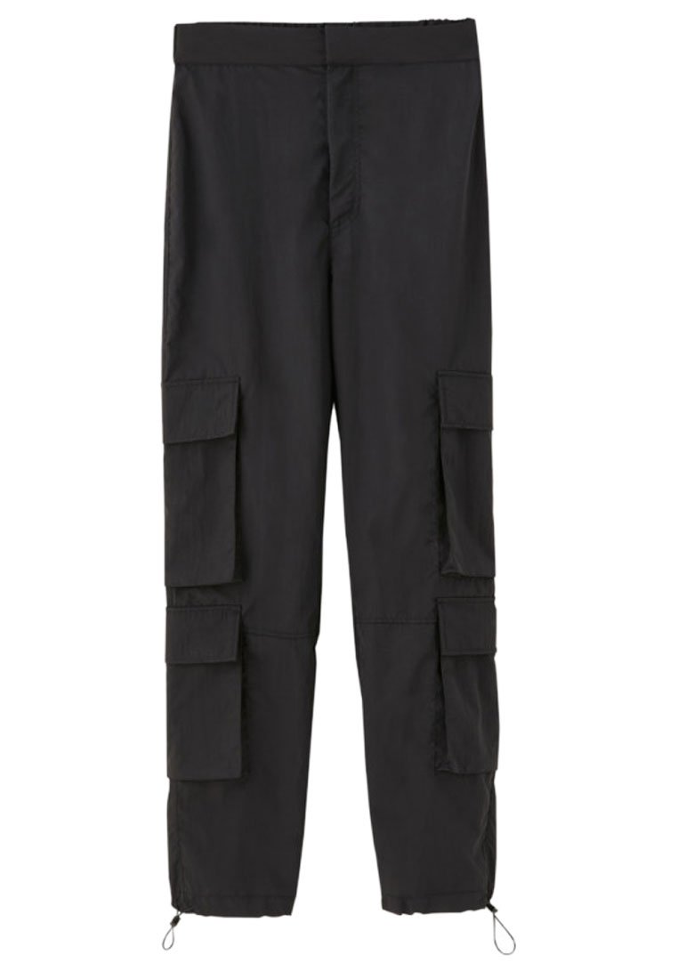 Pull&bear Mit Zwei Taschen - Cargobukser Black