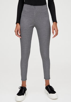 MIT VICHYKAROS - Trousers - black