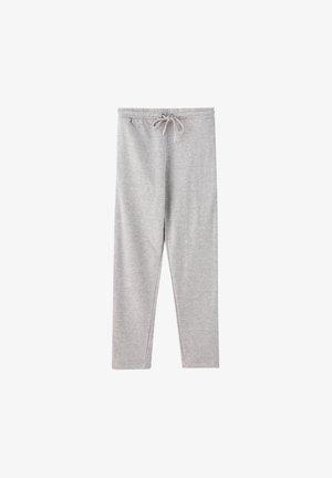 MIT GERADEM SAUM  - Pantalon de survêtement - grey