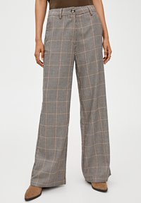 PULL&BEAR - Kalhoty - brown - 0