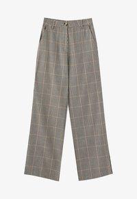 PULL&BEAR - Kalhoty - brown - 5