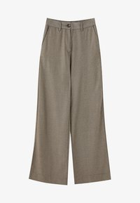 PULL&BEAR - MIT HAHNENTRITTMUSTER - Kalhoty - light brown - 5