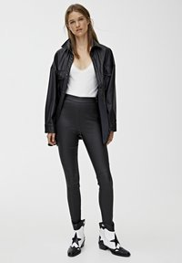 PULL&BEAR - Legging - black - 1