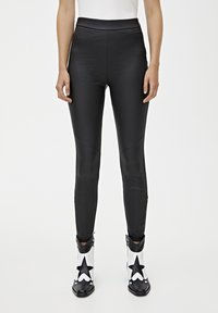PULL&BEAR - Legging - black - 0