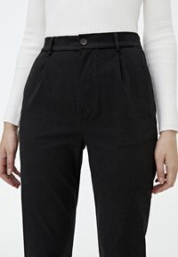 PULL&BEAR - Chino - mottled black - 4