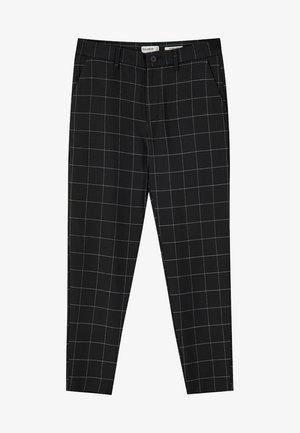 MIT KAROMUSTER - Kalhoty - black