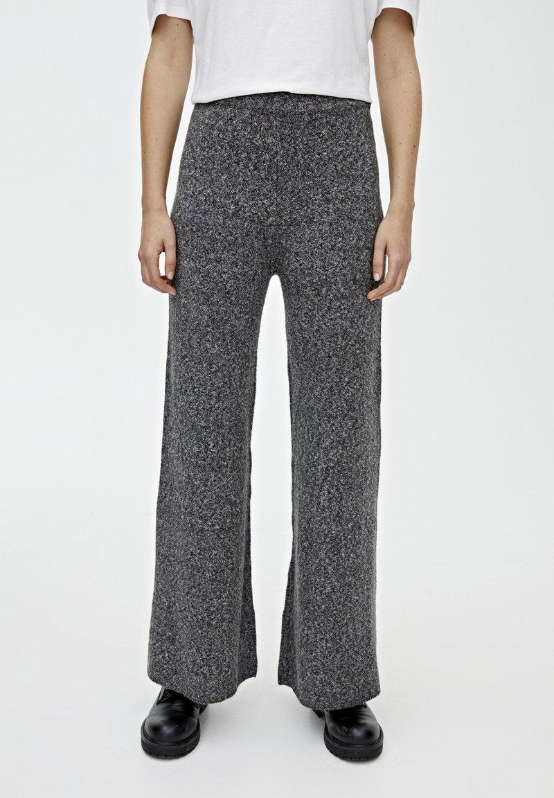 PULL&BEAR - Trousers - dark grey