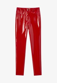 PULL&BEAR - Trousers - red - 6
