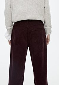 PULL&BEAR - IM MOM-FIT  - Broek - bordeaux - 4
