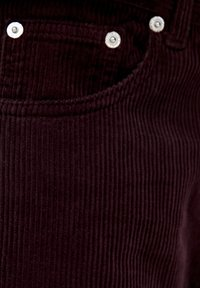 PULL&BEAR - IM MOM-FIT  - Broek - bordeaux - 5