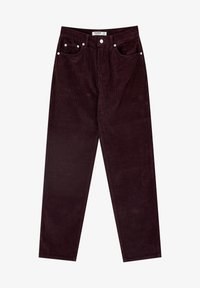 PULL&BEAR - IM MOM-FIT  - Broek - bordeaux - 6
