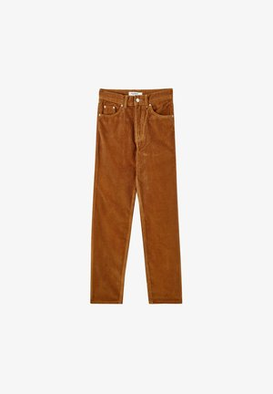 IM MOM-FIT  - Trousers - brown