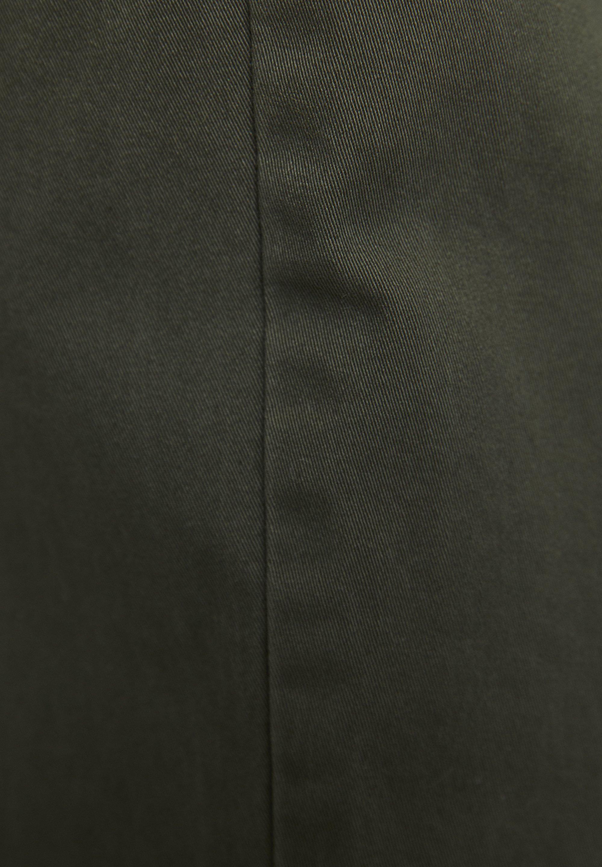 PULL&BEAR BASIC-CARGOHOSE MIT KETTE 09670115 - Bojówki - khaki