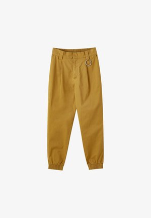 BASIC-CARGOHOSE MIT KETTE 09670115 - Cargo trousers - brown