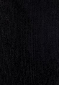 PULL&BEAR - Spodnie materiałowe - black - 5