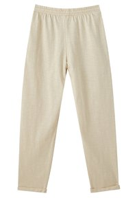 PULL&BEAR - Tracksuit bottoms - beige - 3