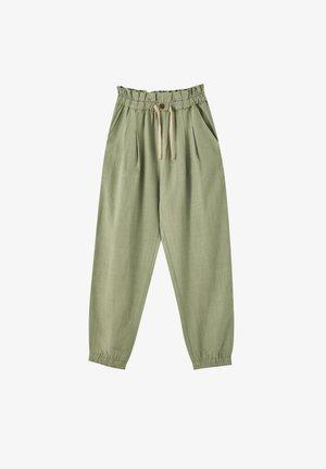 RUSTIKALE - Pantalon de survêtement - dark green
