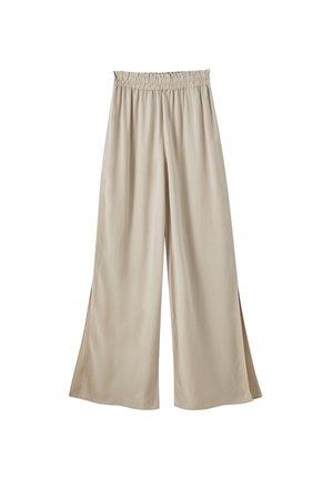 MIT STRETCHBUND - Pantalon classique - beige