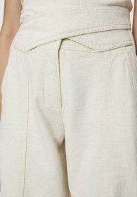 PULL&BEAR - Pantalon classique - beige - 3