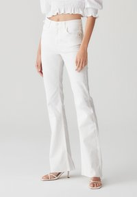 PULL&BEAR - Trousers - white - 0
